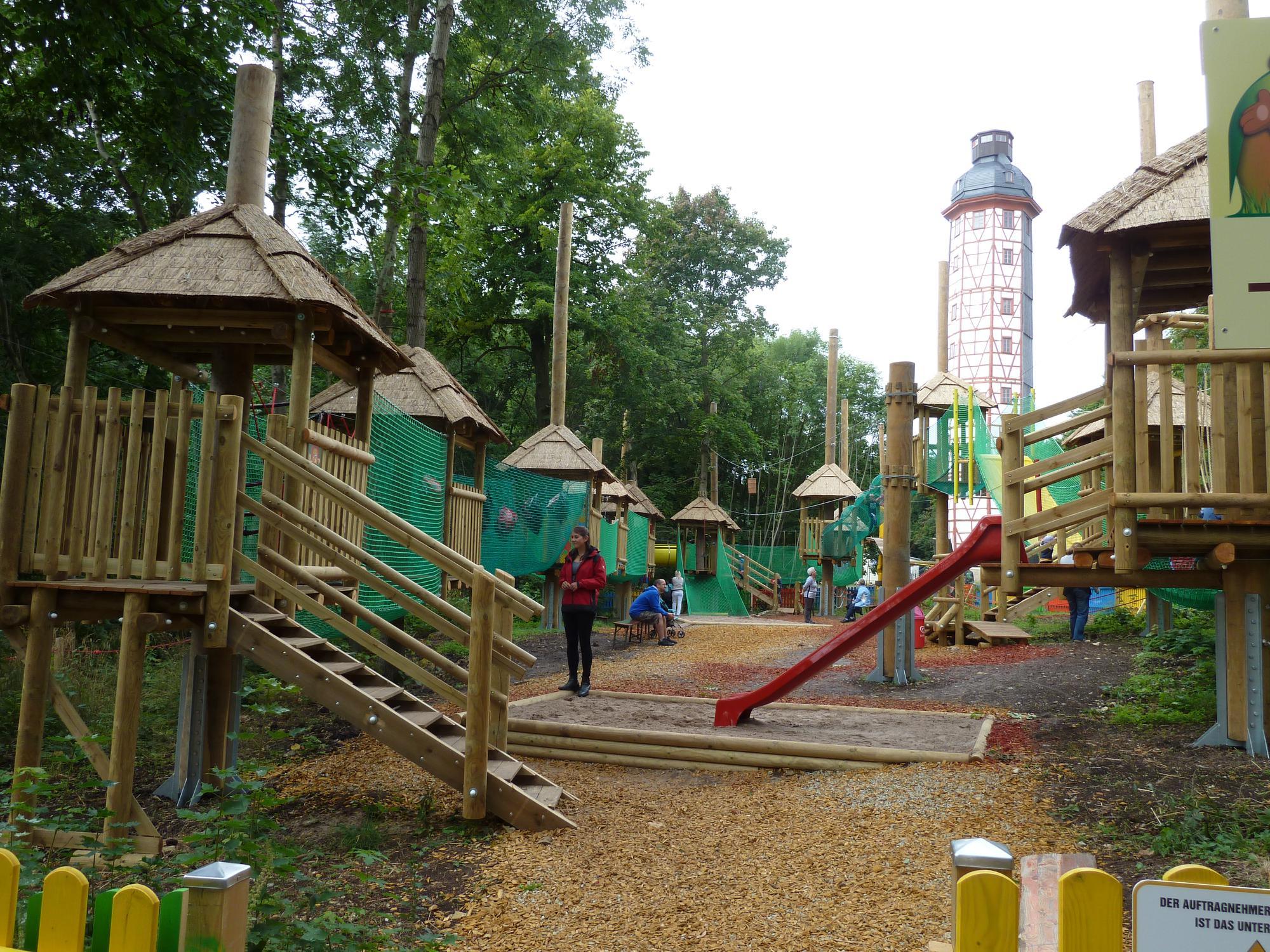 Kleinkinderkletterwald Freizeitpark Possen
