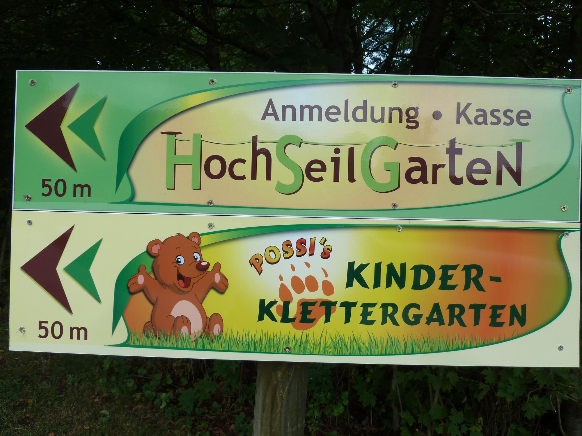 Kleinkinderkletterwald
