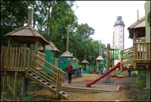 """Kleinkinderkletterwald im Freizeitpark """"Zum Possen"""""""
