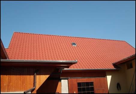 Dachsanierung einer Scheune in Schönewerda