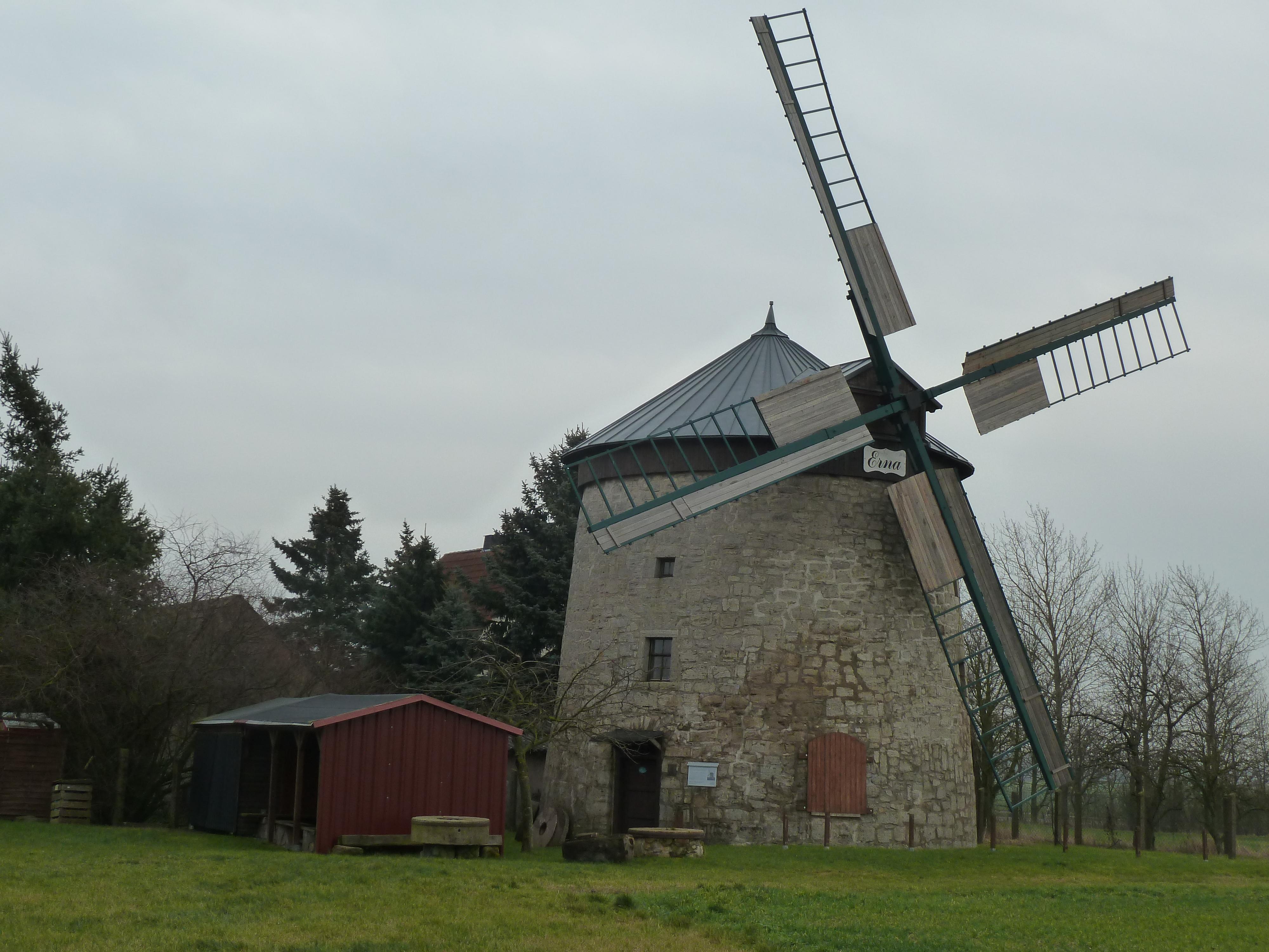 Mühle Immenrode außen