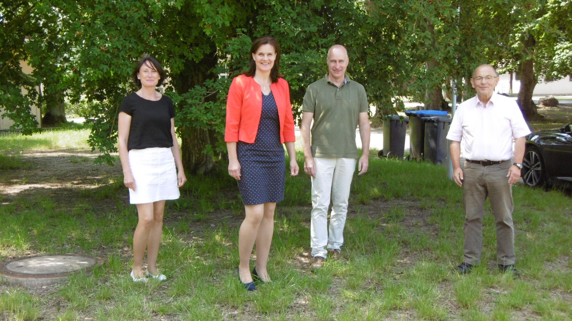 Neu gewählter Vorstand RAG Kyffhäuser e.V.  (Christine Laabs)