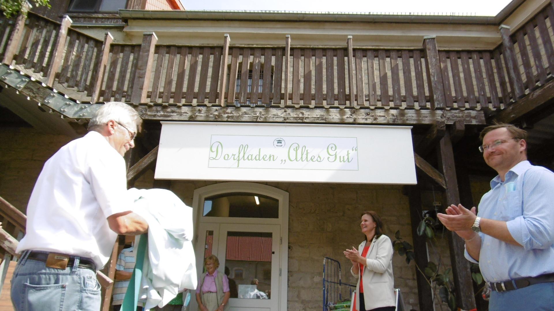 Dorfladen Berka ist eröffnet , RAG Kyffhäuser e.V.
